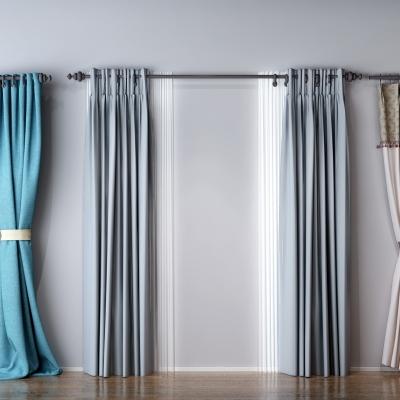 现代窗帘组合3D模型