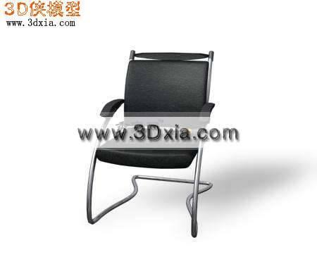 最新的3D办公椅模型下载