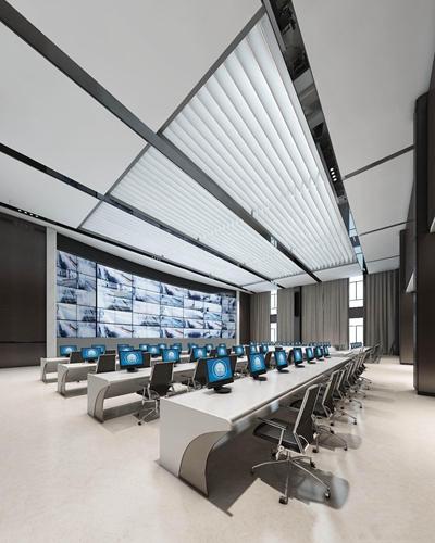 现代公安监控中心3D模型