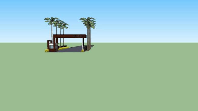 入口大门 其他 湖 室外 海滨 沙滩