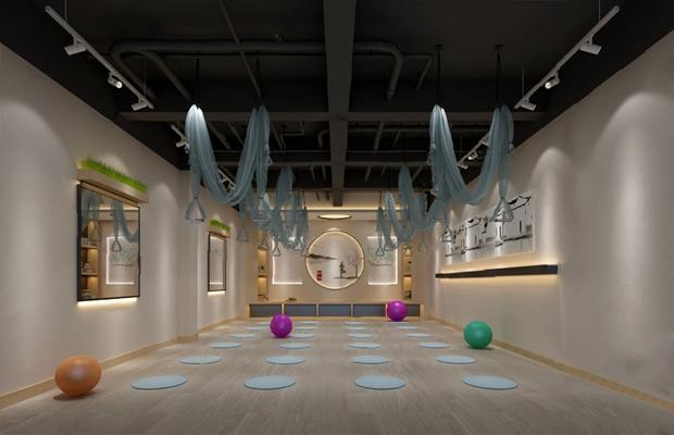 瑜伽室3D模型