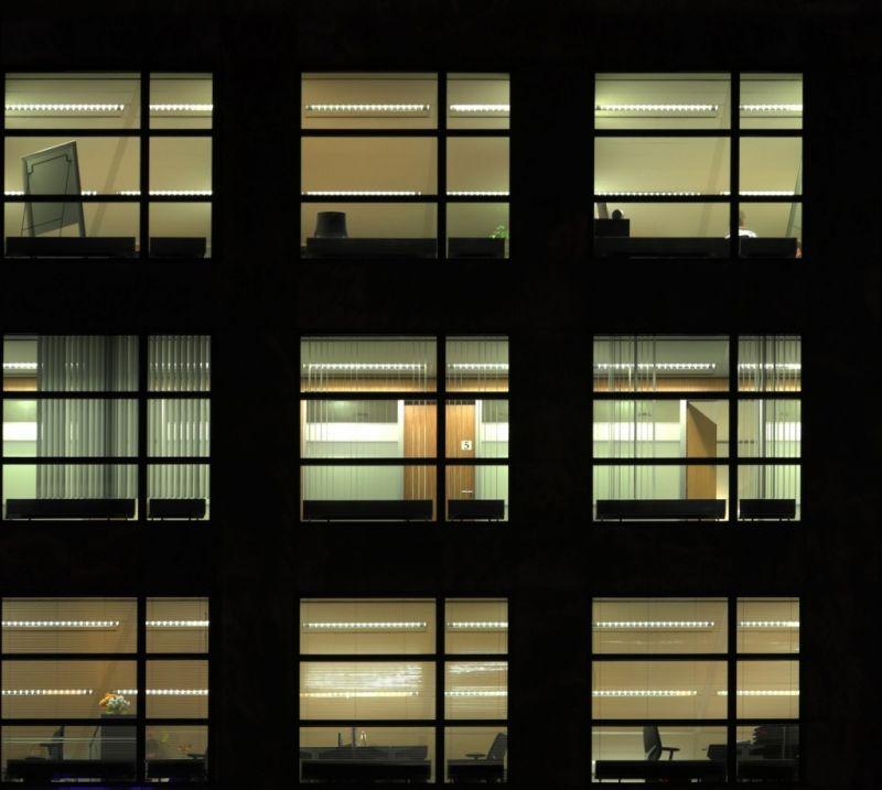 外景-夜晚窗户 23