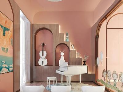 盘石室内设计 现代音乐室