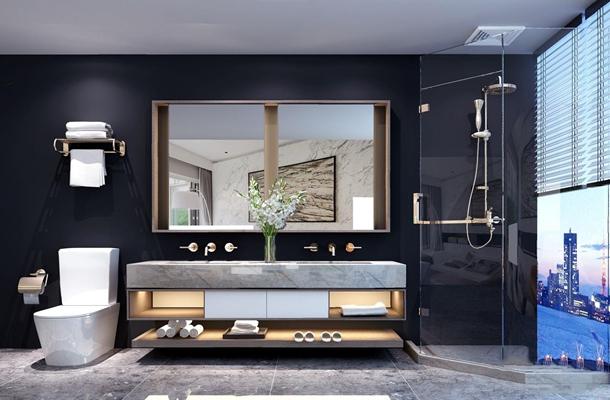现代卫浴用品 现代卫浴用品 洗手台 台盆柜 浴室柜 淋浴房 马桶