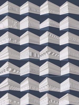 欧式雕花石膏线条3d模型