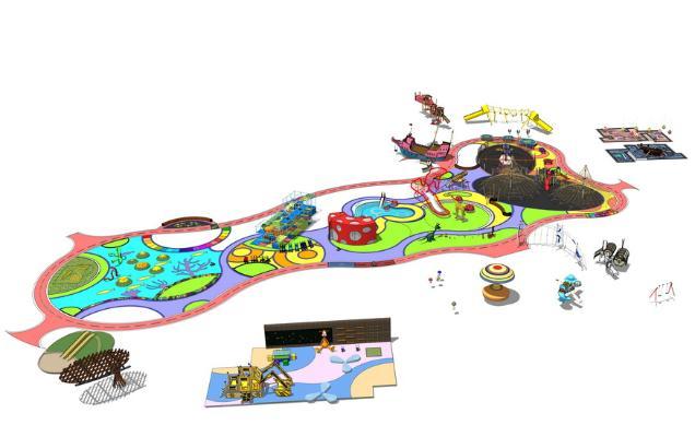 儿童活动区SU模型