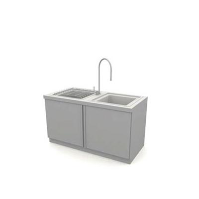 灰色洗水槽