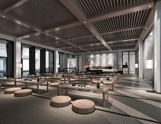 新中式多功能讲堂 新中式多功能讲堂书桌 垫子 讲台 讲桌