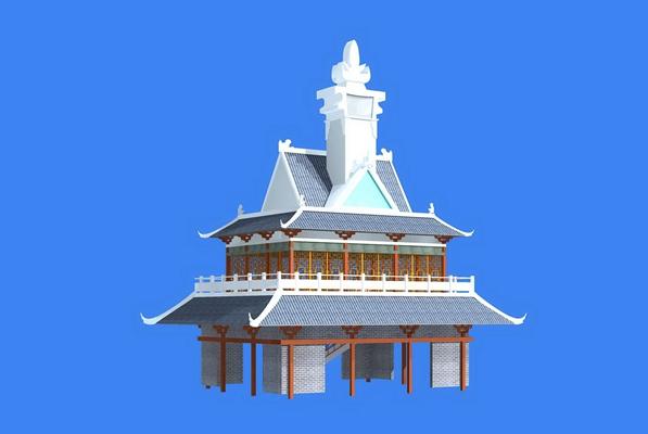 游乐场所建筑1