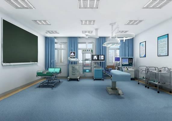 手术室3D模型下载