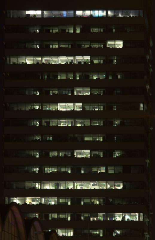 外景-夜晚窗户 34