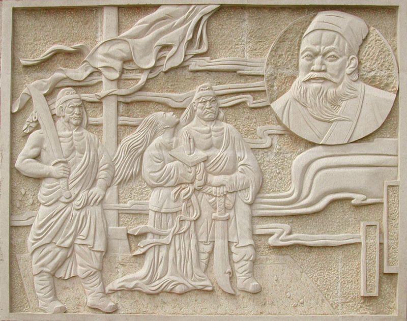 雕花-中式石雕 012