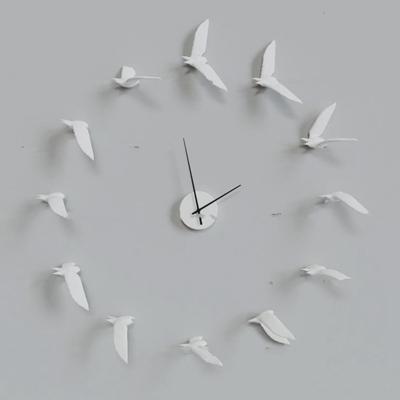 北欧创意海鸥挂钟3D模型