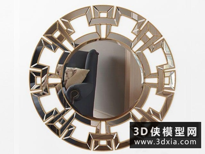中式装饰镜