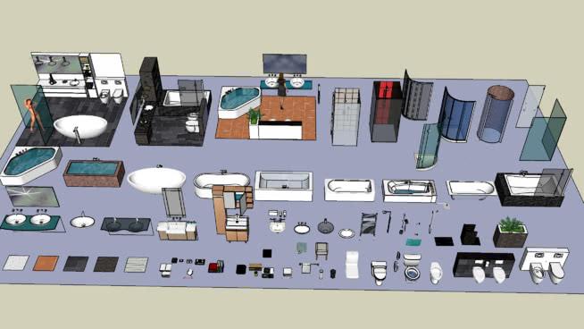 浴室及配件 工具箱 飾品 電開關 集裝箱船 家居物品