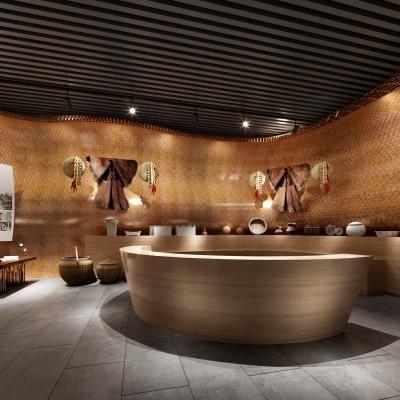 中式民族特色博物馆3D模型