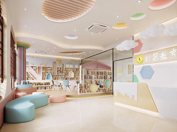北欧幼儿园接待大厅3d模型
