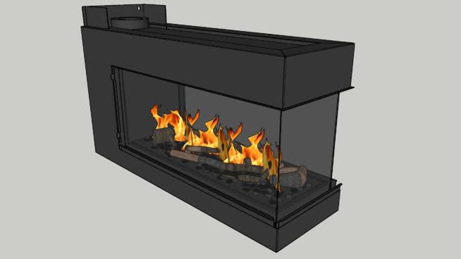 大风室分室大三无框 火炉 壁炉 火炉栏 烤炉