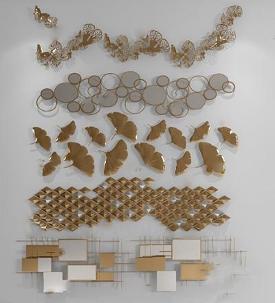 墙饰3D模型