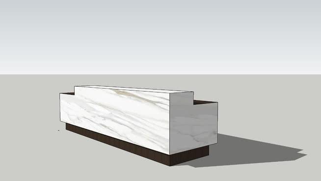 现代接待台 桌子 书 台灯 盒子 柜子