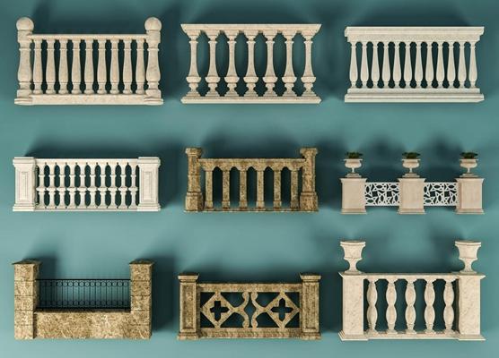 欧式护栏组合 欧式古典护栏