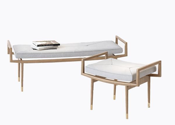 新中式长凳