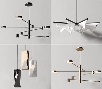 现代吊灯组合 现代吊灯