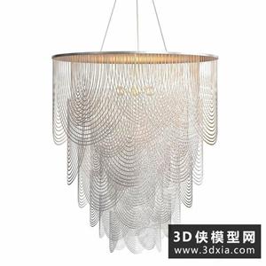 現代絲線吊燈