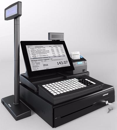 超市pos机 现代其他器材 超市pos机 收银机