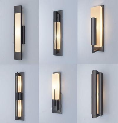 新中式壁灯组合 新中式壁灯 壁灯组合