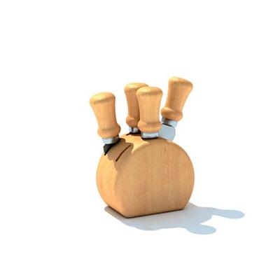 原木色刀具架