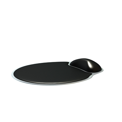 黑色鼠标垫
