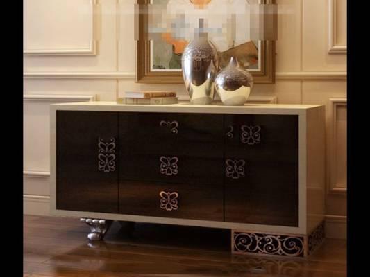 欧式新古典木艺餐边柜