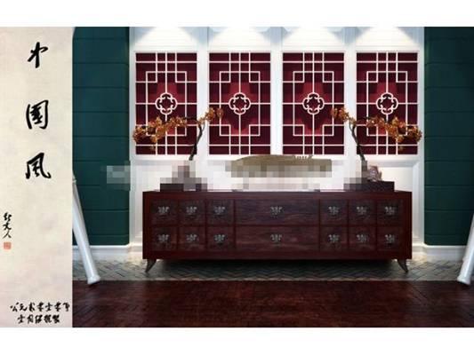 新中式原木色木艺单人沙发