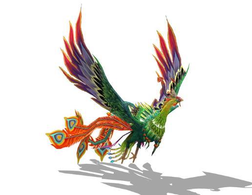 孔雀SU模型