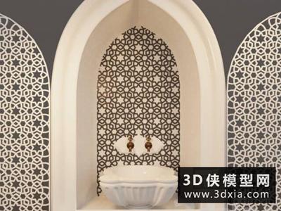 阿拉伯风格浴池