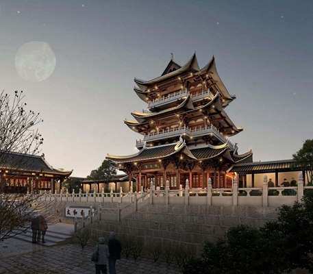 寺院 室外建筑 寺院