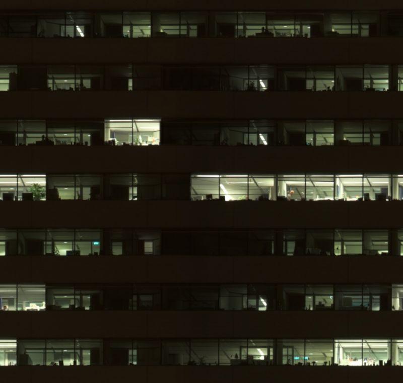 外景-夜晚窗户 47