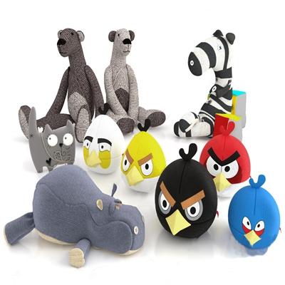 现代毛绒玩具 现代玩具 毛绒玩具 布偶