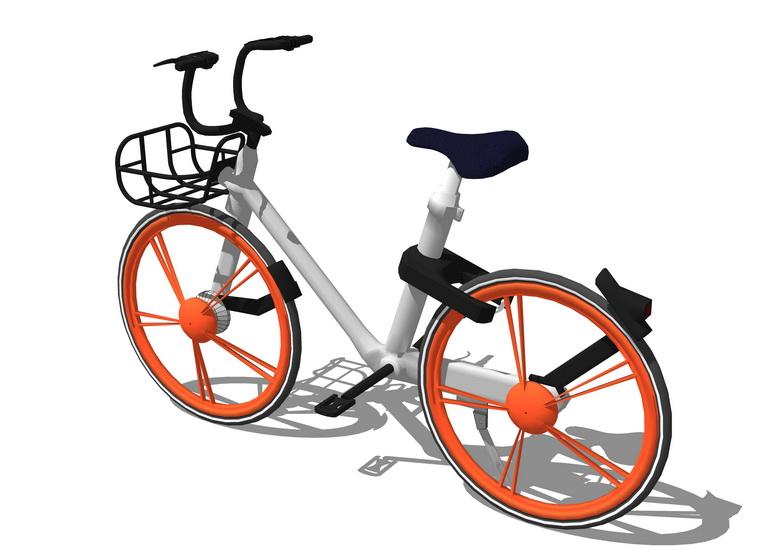 摩拜單車SU模型