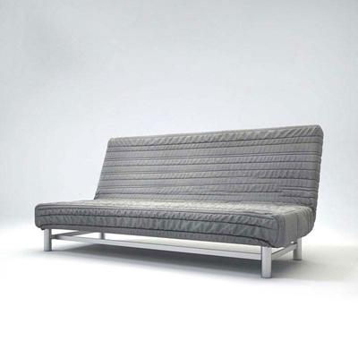簡約布藝靠背沙發床客廳沙發 沙發床 三人沙發 現代簡約 布藝沙發 靠背
