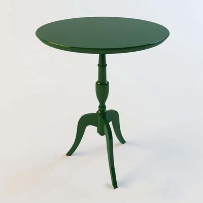 北欧风格墨绿色小茶桌null