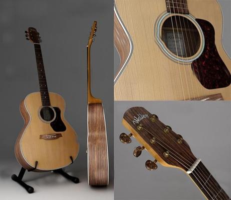 现代吉他乐器3D模型