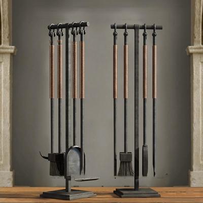现代壁炉工具3D模型