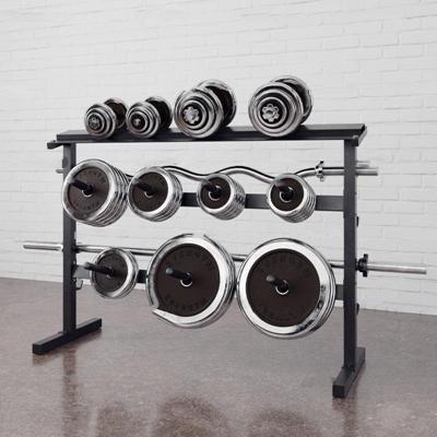 现代哑铃健身器材3D模型