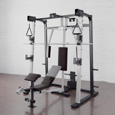 现代卧推架健身器材3D模型