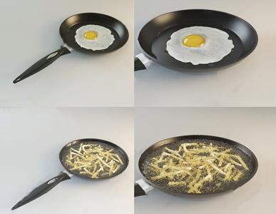 现代铁锅 现代厨房用品 铁锅 炒菜锅