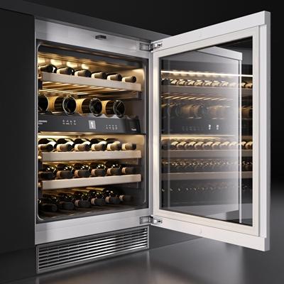 现代红酒恒温柜3D模型下载