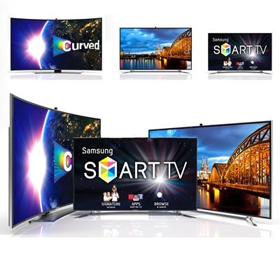 现代液晶电视3D模型下载