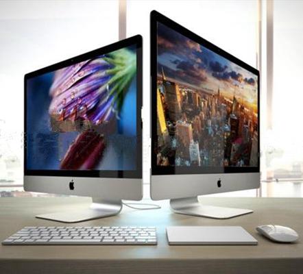 现代苹果台式电脑3D模型下载